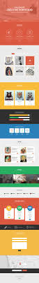 psd templates one page web templates bies graphic creativo one page psd template