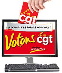 """Résultat de recherche d'images pour """"je clique je vote cgt"""""""