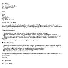 Professional Cover Letter Format Documents with Cover Letter Structure