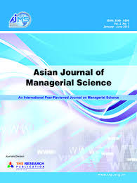 Asian Journal of Managerial Science  AJMS  The Research Publication
