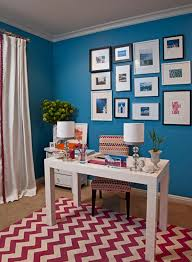 paint the walls a vibrant color best colors for office