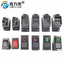 <b>KELIMI Car</b> styling Modified Rocker Switch Button Universal engine ...