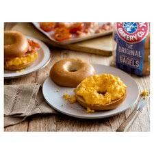 <b>New</b> York Bakery <b>Plain</b> Bagels 5 Pack - Tesco Groceries