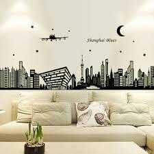 new 3d diy luminous vinyl wall stickers shanghai oriental pearl black helicopter glow in the dark cheap oriental furniture