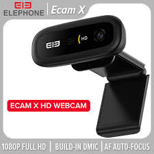 ELE <b>Ecam X 1080P HD</b> Webcam 5.0 MegaPixels Auto Focus Built in ...
