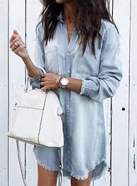 <b>Denim Dresses</b> for <b>Women</b> - Cheap Price