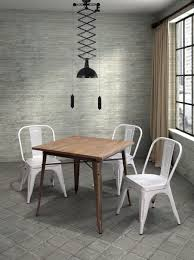metal dining room chairs chrome:  amazing dining table appealing picture of rustic dining room decoration also metal dining room chairs