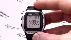 <b>Часы Casio</b> Illuminator <b>W</b>-<b>96H</b>-<b>1A</b> [W-96H-1AVEF] - Видео обзор и ...
