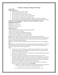 teach it write  middle and high school ela lesson plan teacher notes