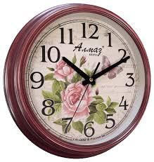 Купить <b>Часы настенные кварцевые</b> Алмаз A05 бордовый ...