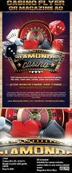 casino magazine ad or flyer template by hotpin graphicriver casino magazine ad or flyer template 7 flyers print templates