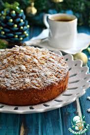 Пирог с <b>ананасом</b> и <b>грецким орехом</b> – кулинарный рецепт