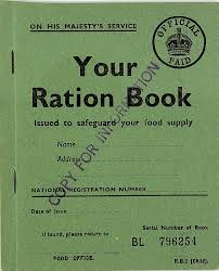 Image result for 1940 rationing begins
