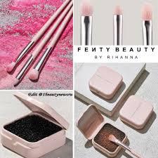 Новые <b>кисти</b> для макияжа и спонж для очищения <b>кистей Fenty</b> ...