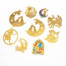 <b>5pcs</b>/lot Cat In Moon <b>Epoxy</b> UV Jewelry <b>Filling</b> Box Bookmark ...