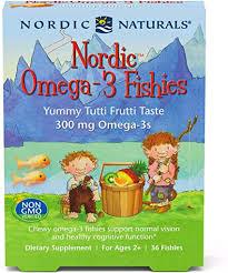 Nordic Naturals Nordic Omega-3 Fishies, Tutti Frutti ... - Amazon.com