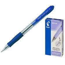 <b>Ручка</b> шариковая <b>PILOT BPGP</b>-<b>10R</b>-<b>F</b> авт.резин.манжет.синяя 0 ...