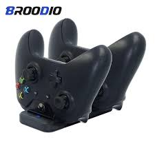 Dual <b>Charging Dock</b> Controller Charger For Xbox one <b>Gamepad</b> ...