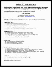make a good resume free sample   essay and resume    sample resume  examples of how to make a good resume  make a good resume