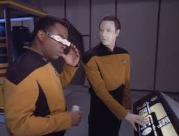 Image result for geordi la forge bridge