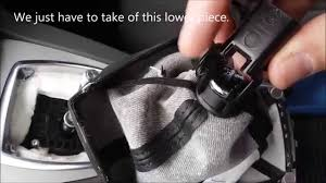 Replacing a Ford Kuga or C-Max <b>Leather Gear lever</b> Gaiter - YouTube