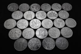 What are the <b>new</b> alphabet <b>10p</b> coins, what does each letter mean ...
