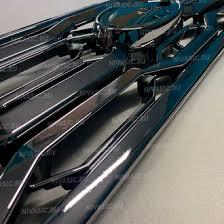 <b>Решетка радиатора</b> нива Титан - хром - для тюнинга нивы