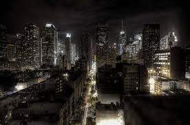 new york city at night nor ty in the city