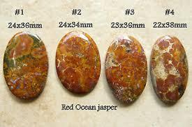 <b>3 Pcs Lot</b> of Unique Red Jasper Cabochon Jewelry & Beauty Craft ...