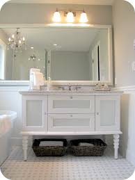 bathroom dining my house plus giggles together with bathroomand in grey renovationmakeover of bathroom cabinet ample shower lighting
