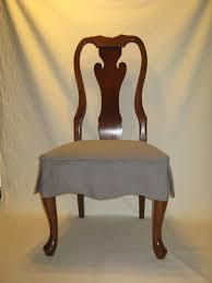 Linen Dining Room Chair Slipcovers Slip Cover Dining Chairs Dp Linda Mcdougald Dining Room Chair