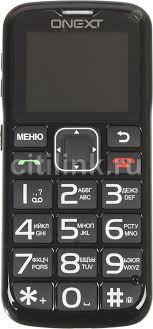 Купить Мобильный <b>телефон ONEXT Care</b>-<b>Phone</b> 5, черный в ...