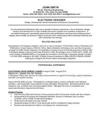 click here to download this electronic designer resume template httpwww electronic engineer resume sample