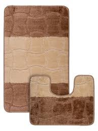 Набор ковриков противоскользящих для <b>ванной комнаты</b> и ...