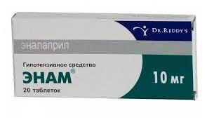 <b>Энам</b> таб. <b>10мг</b> №<b>20</b> — купить по выгодной цене на Яндекс ...