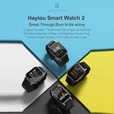 Global Version <b>Haylou LS02</b> Smart Watch 2 <b>1.4inch</b> LCD Screen ...