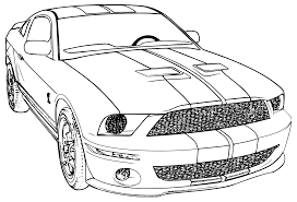 Small Picture printable mustang car car coloring page ford mustang school