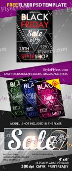 black friday psd flyer template  preview preview black15