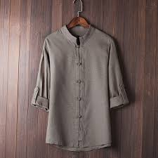 Купить Оптом Men Shirt <b>Classic</b> Chinese <b>Style</b> Shirt Tops Tang Suit ...