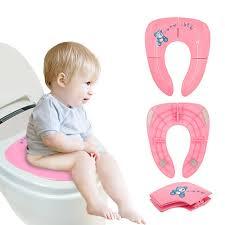 <b>Anti</b>-<b>skid Baby</b> Travel Folding Potty Seat Mat <b>Portable Toilet</b> Training ...