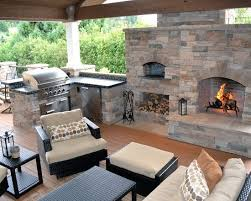 outdoor kitchen ideas countertops hardwood flooring black wicker furniture and exposed ceiling beams fil