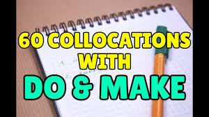 Difference between <b>DO</b> and <b>MAKE</b> – 60 common English collocations