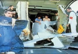 Image result for عکس از سقوط هواپیمای مسافری که توسط  ناوامریکا هدف قرار گرفت
