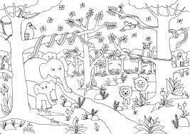 Small Picture Safari Jungle Animal Coloring Sheets Coloring Coloring Pages