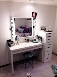 cheap furniture ikea vanity hollywood set ideas for girl with white gloss paint wooden makeup table black lacquer furniture paint