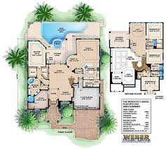 Story Hacienda House Plans   Free Download House Plans And Home    Mediterranean Style House Floor Plans on story hacienda house plans