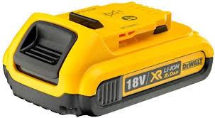 Купить Батарея аккумуляторная <b>DeWalt</b> DCB183-XJ <b>18В 2Ач</b> Li ...