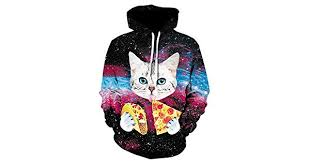 <b>Plstar Cosmos Men</b>/Women 3D <b>Hoodies</b> Animal Print Funny Pizza ...