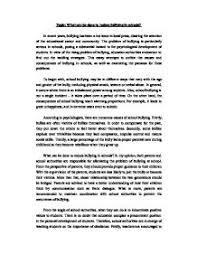 school bullying essays   porza resume  created by naturebullying essays article writing services