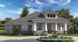Craftsman House Plans   Sater Design Collection   Home DesignsBayberry Lane PLAN